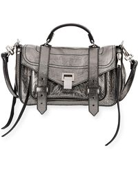 Proenza Schouler | Ps1+ Tiny Metallic Leather Satchel Bag | Lyst
