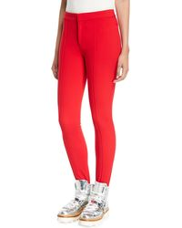 Moncler Grenoble High-waist Skinny Stirrup Trousers
