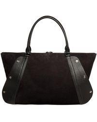 Akris - Aimee Medium Snap Satchel Bag - Lyst
