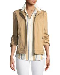 Lafayette 148 New York - Weston Italian Gabardine Jacket - Lyst