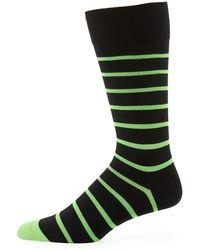 Paul Smith - Neon Striped Socks - Lyst