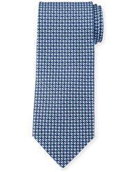 Ferragamo - Diamond Chain Silk Tie - Lyst