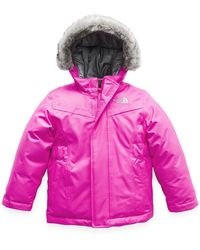 The North Face - Greenland Down Hooded Jacket W  Faux-fur Trim - Lyst c191fdd71