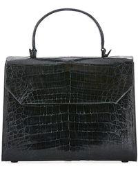 Nancy Gonzalez - Lily Large Crocodile Flap Top-handle Bag - Lyst