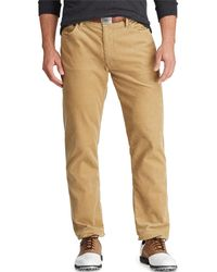 Ralph Lauren - Men's Classic-fit Corduroy Performance Golf Pants - Lyst