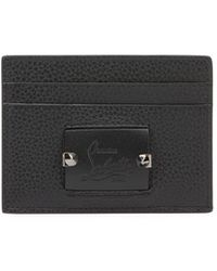 Christian Louboutin - Men's Kios Leather Card Case - Lyst