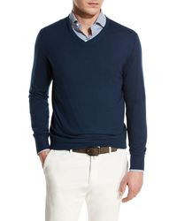 Men/'S SCOTCH /& SODA CN maglione leggero BEIGE