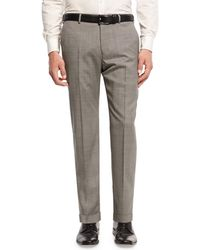 Armani | Micro-textured Trousers | Lyst