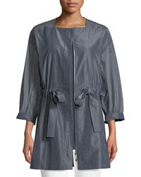 Lafayette 148 New York - Stephania Empirical Tech Cloth Jacket - Lyst