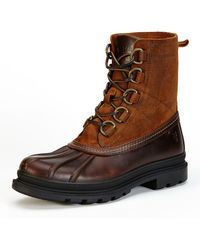 Frye - Riley D-ring Lace-up Duck Boot - Lyst
