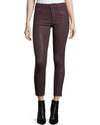 Joe's Jeans - The Charlie Ankle Liquid Coated Trousers - Lyst