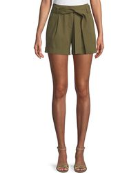 Lafayette 148 New York - Greenpoint Bi-stretch Pima City Shorts - Lyst