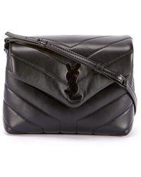 Saint Laurent - Loulou Toy Monogram Ysl Quilted Shoulder Bag - Lyst 86e07787e51b8