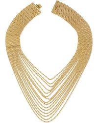Auden - Leighton Multi-strand Chain Necklace - Lyst