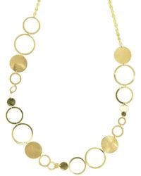 Lana Jewelry - Multi-disc Short Station Necklace - Lyst