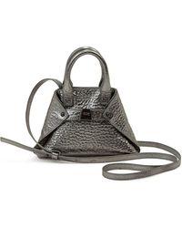 Akris - Ai Micro Hammered Leather Crossbody Bag - Lyst