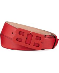 Bally - Men's Mirror B Leather Belt - Lyst