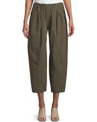 Urban Zen - Cropped Poplin Pull-on Pants - Lyst