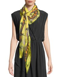 Zadig & Voltaire - Kerry Nenuphar Scarf - Lyst