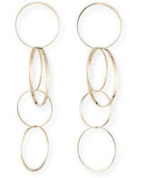 Lana Jewelry - Large Bond Hoop Drop Earrings - Lyst