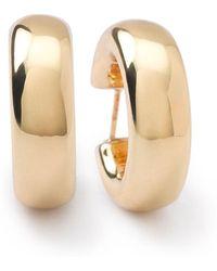 Ippolita - 18k Glamazon Thick Small Flat Hoop Earrings - Lyst