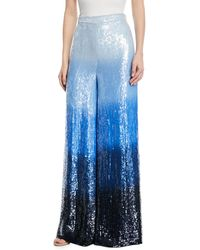 Michael Kors - Sequined Dip-dye Trousers - Lyst