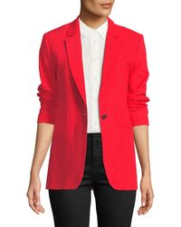 Rag & Bone - Ridley Notched-lapel Blazer Jacket - Lyst