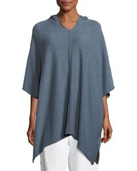 Eskandar - Hooded Wool Pullover Top - Lyst
