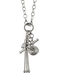 Monica Rich Kosann - Sterling Silver Charm Pendant Necklace - Lyst