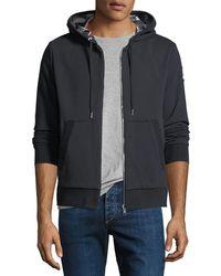 Moncler Gamme Bleu - Maglia Zip-front Reversible Hoodie Sweatshirt - Lyst