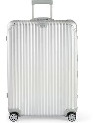 "Rimowa Topas Silver 32"" Multiwheel Luggage"