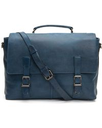 Frye - Men's Logan Top Handle Briefcase - Lyst