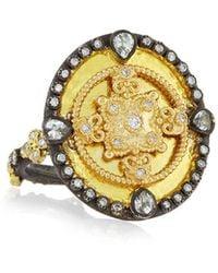 Armenta - Oid World Heraldry Oval Shield Ring - Lyst