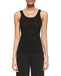 Jean Paul Gaultier - Black Tank Top - Lyst