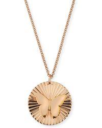 Jennifer Zeuner - Iris Mariah Butterfly Pendant Necklace - Lyst