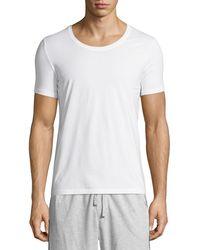 Hanro - Cotton Superior Short-sleeve Crewneck Tee - Lyst