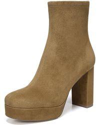 Diane von Furstenberg - Yasmine Suede Platform 95mm Boots - Lyst