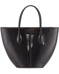 d33266de0dfc Prada Comic Face Grace Lux Duffel Bag in Black - Lyst