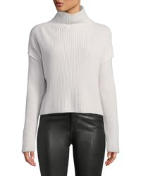A.L.C. - Vassar Ribbed Wool Turtleneck Sweater - Lyst