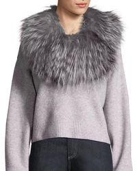 Adrienne Landau Stretch Fur Cowl Infinity Scarf