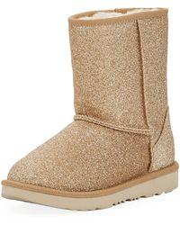UGG - Classic Short Ii Glitter Boot - Lyst