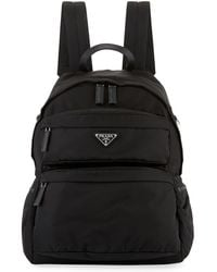 Prada - Men's Tessuto Motagna Backpack - Lyst