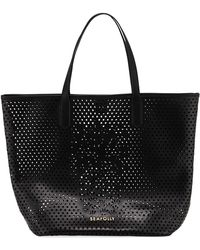 Seafolly | Carried Away Pineapple Vegan-leather Tote Bag | Lyst