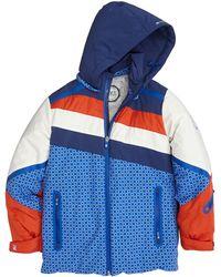 Stefano Ricci - Colorblock Hooded Ski Jacket - Lyst