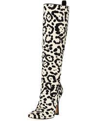 ebe1ef64d5c05 Manolo Blahnik - Procopio Over-the-knee Fur Boots - Lyst