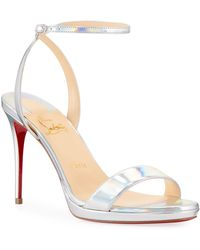 660e3863f1c Christian Louboutin Samotresse Wings Red Sole Leather Sandals in ...