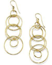 Ippolita - Classico 18k Gold Jet Set Earrings - Lyst