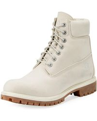 "Timberland - 6"" Icon Tread Canvas Combat Boot - Lyst"