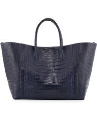 Nancy Gonzalez - Large Crocodile Convertible Tote Bag - Lyst