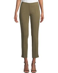 Lafayette 148 New York - Fundamental Bi-stretch Cropped Stanton Pant - Lyst